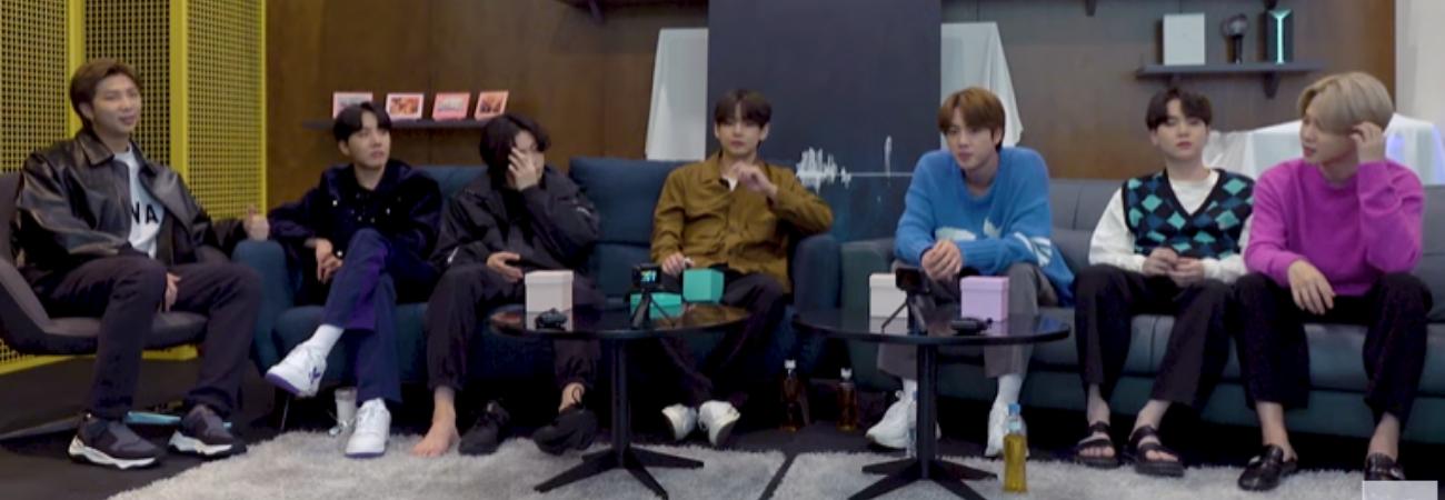 BTS comparte divertidas historias del detrás de escena de su álbum