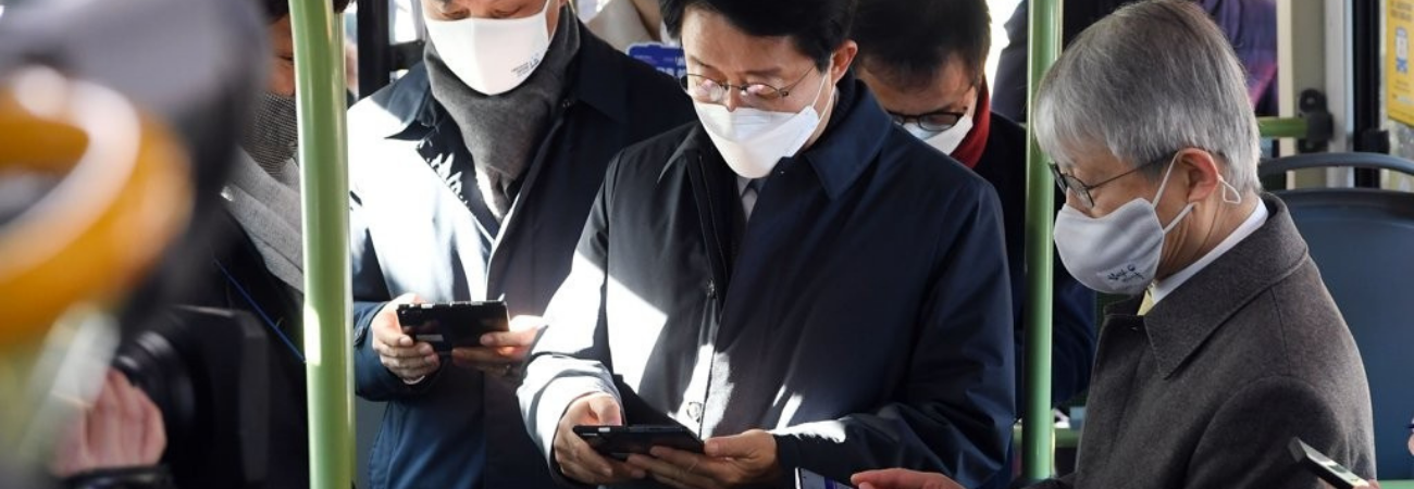 Corea del Sur implementa Redes Wi-Fi gratuitas en todos los autobuses del país