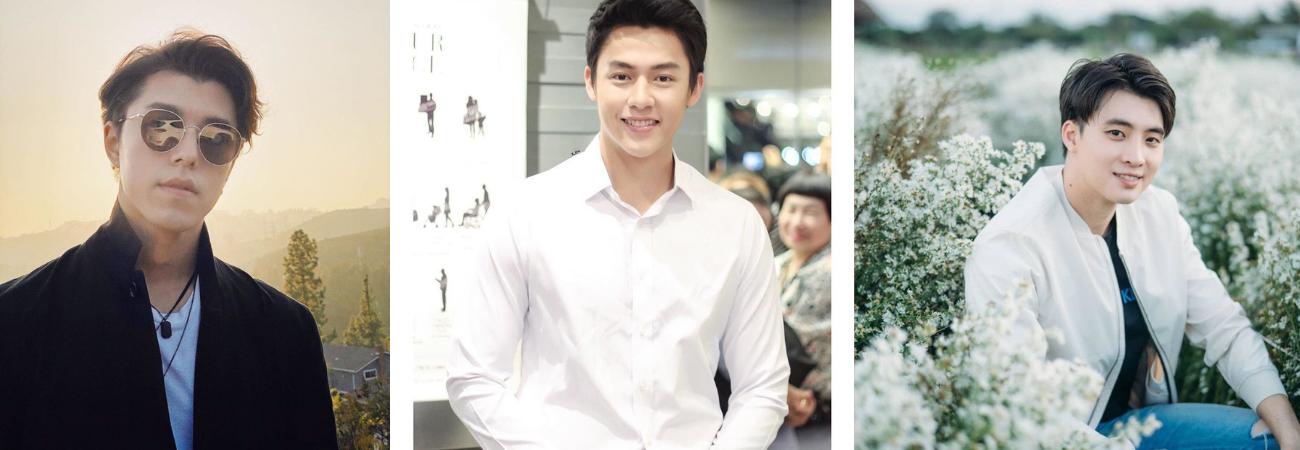 5 Actores Tailandeses de TV3 que tienen muchos seguidores en Instagram