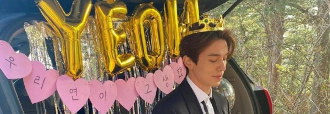 Lee Dong Wook escribe una sincera carta a sus Fans