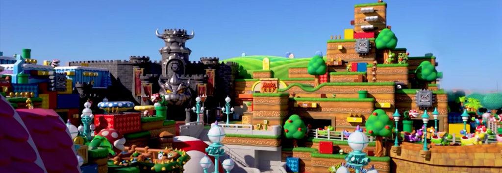 Super Nintendo World realizara su apertura en febrero del 2021