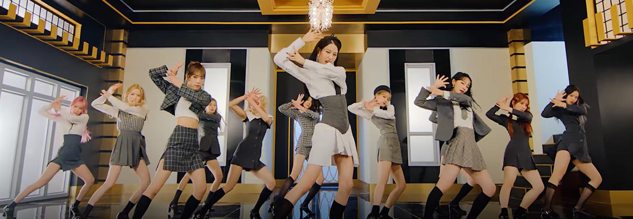 IZ*ONE revela el dance performance del MV Panorama