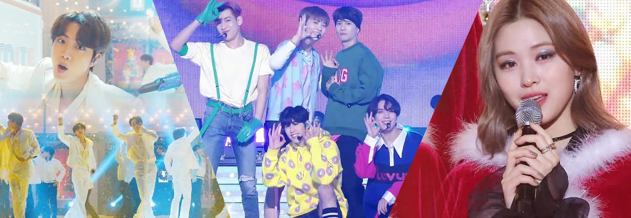 Disfruta de las increíbles presentaciones que SBS Gayo Daejeon 2020 nos regalo