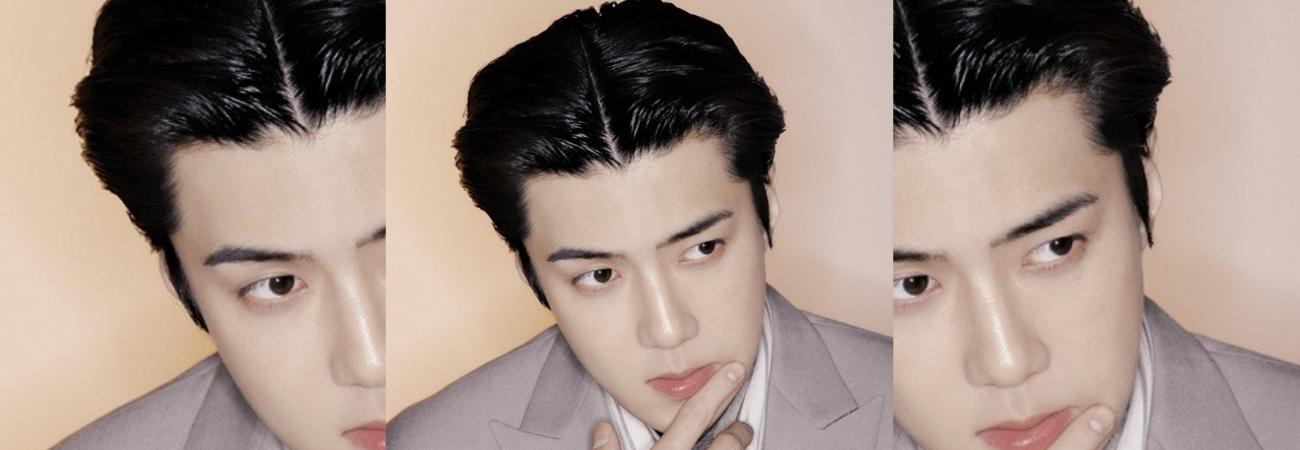 Sehun de EXO, aparece en la Revista DAZEN ENERO 2021