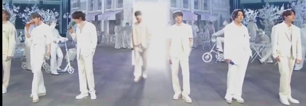 SUGA de BTS que apareció a través de gráficos, ¿Cómo lo hicieron?