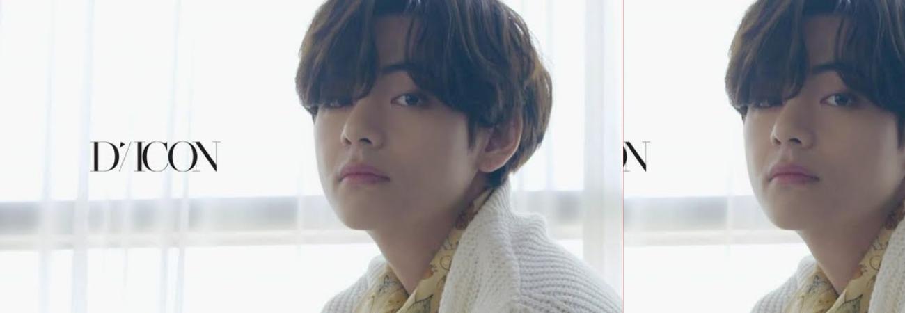 Un nuevo teaser de V de BTS por Dispatch