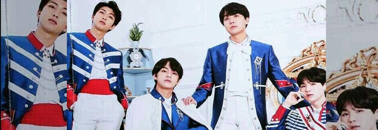 V, RM, J-Hope y Suga son acreditados como productores principales de Blue & Grey