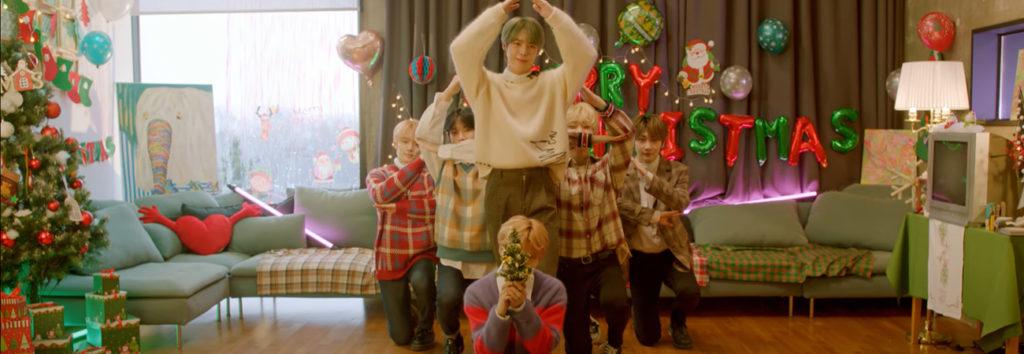 VERIVERY revela su MV navideño titulado Love at First Sight