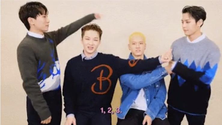BTOB 4U se convierten en fanboys de Minhyuk por esta razón