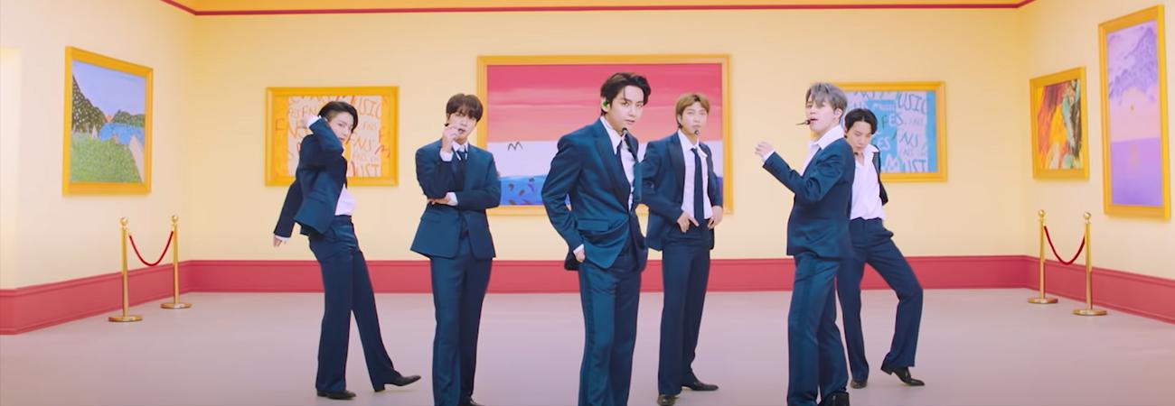 Mira la presentación de Dynamite de BTS en los FNS Music Festival