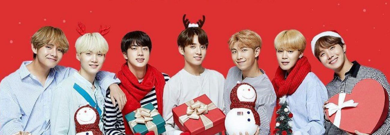 BTS lanza su versión navideña de 'Dynamite'