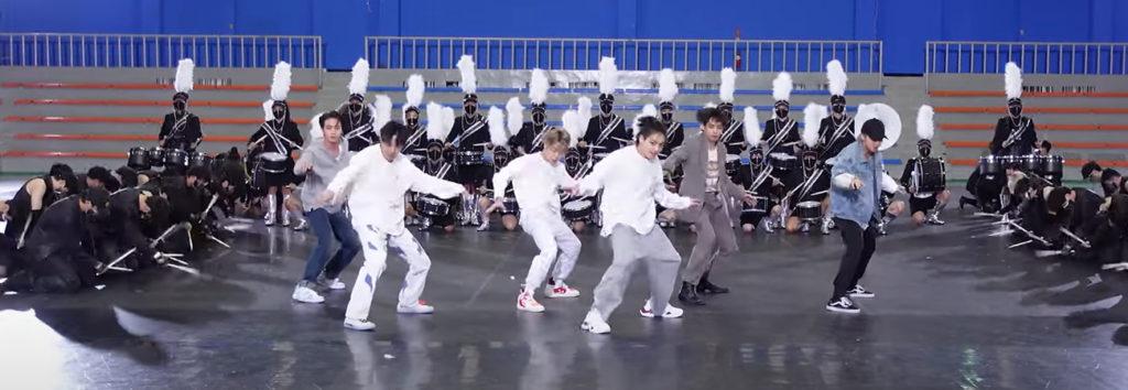 BTS revela el INCREIBLE dance practice ON para los MAMA 2020