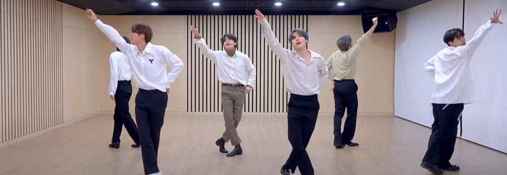 BTS nos presenta el dance practice de Dynamite para los MAMA 2020