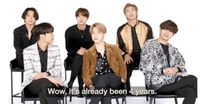 BTS revela lo que sintieron cuando ganaron su primer Daesang
