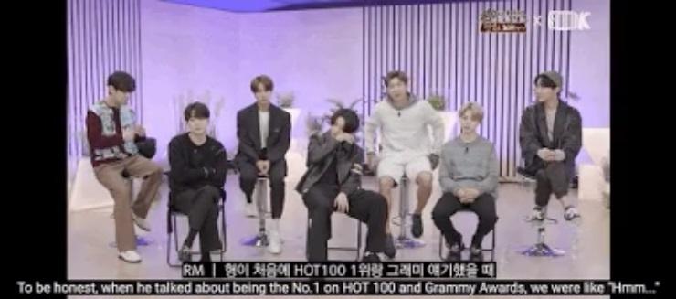 BTS revela que eran ridiculizados cuando hablaban sobre las metas que querían alcanzar