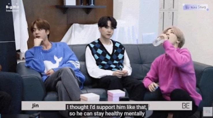 Suga de BTS ridiculiza a Jin con hechos y sin remordimiento