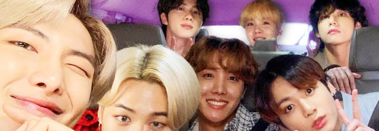 Carpool Karaoke BTS es el video más viral del año en Late Night 2020