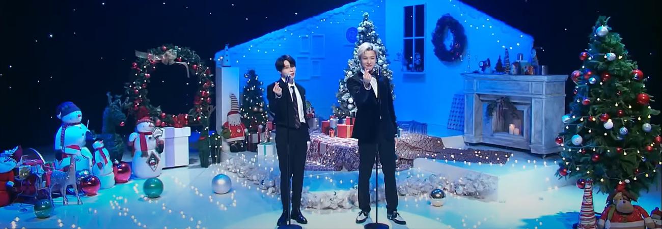 WOODZ and Ha Sung Woon realizan cover navideño de Mistletoe de Justin Bieber