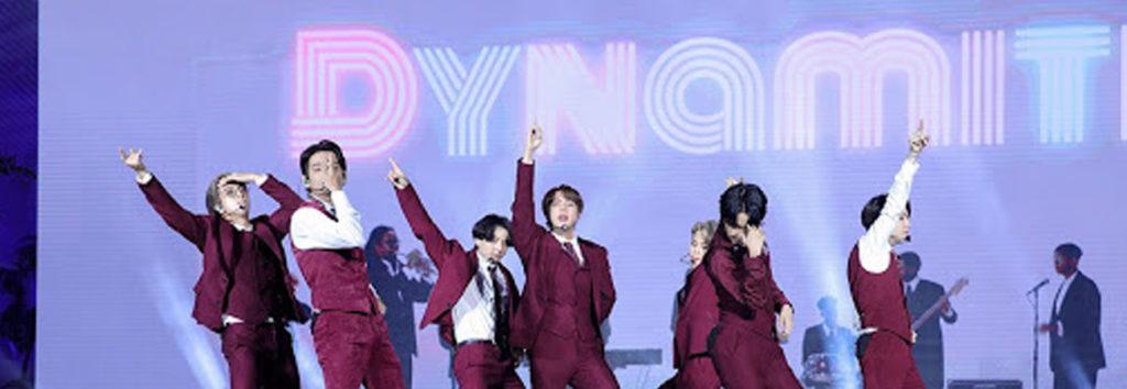 Dynamite de BTS se encuentra en la lista de Mejores Canciones del Año de NME