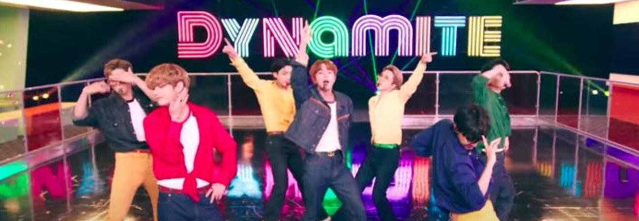 New York Time selecciona a Dynamite de BTS en su lista Mejores Canciones del 2020 de NYT