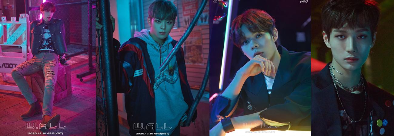 Ghost9 revela nuevo teaser de fotos para W.ALL