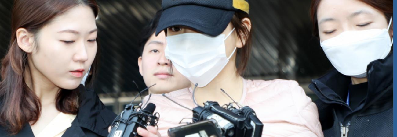 Hwang Ha Na es nuevamente arrestada por violar su libertad condicional