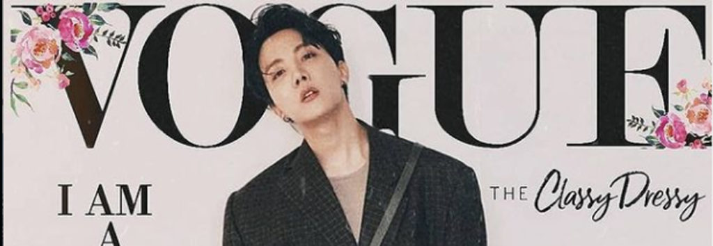 ¿Como fueran las portada de VOGUE si J-Hope de BTS fuera el modelo?