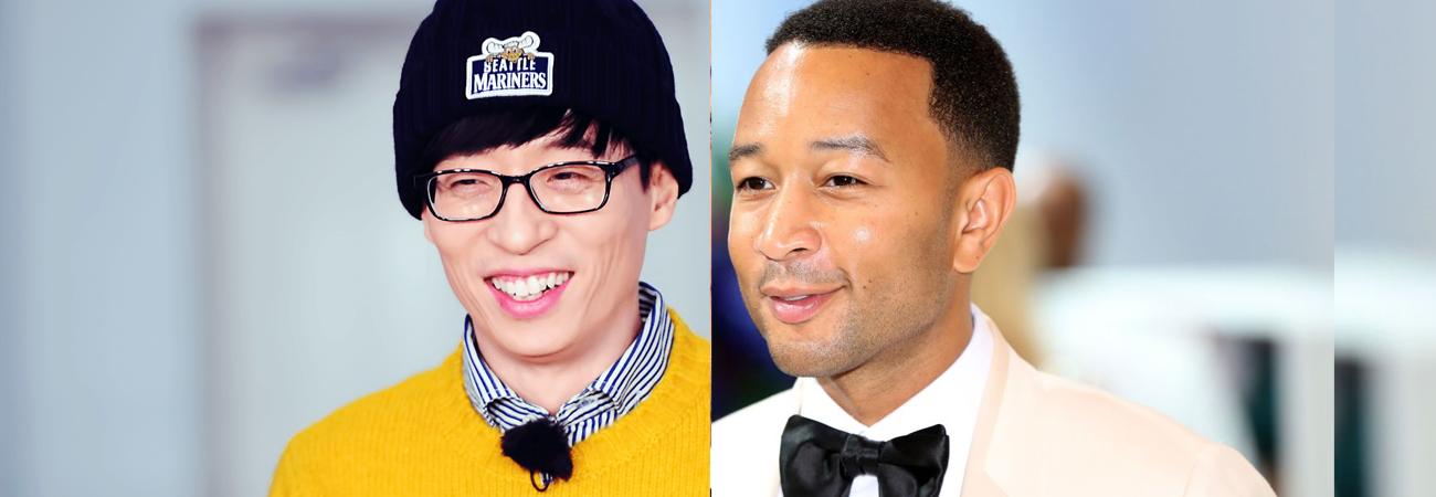 John Legend responde a Yoo Jae Suk y envía canción a 'Hangout with Yoo'
