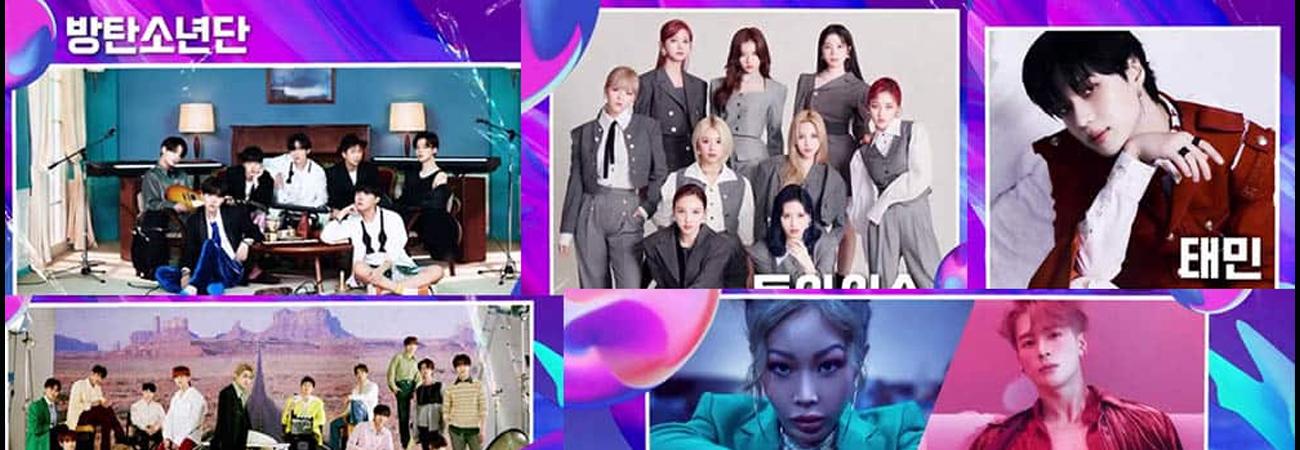 Horarios para LATAM y España para KBS Song Festival