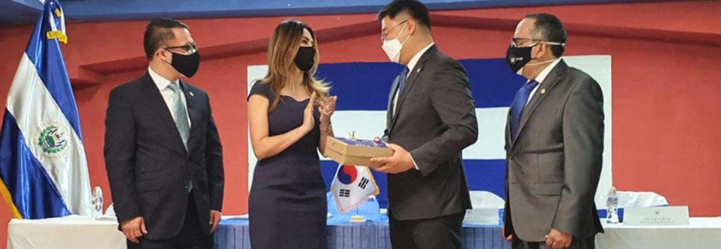 KOICA realiza donación de mascarillas a Guatemala y El Salvador
