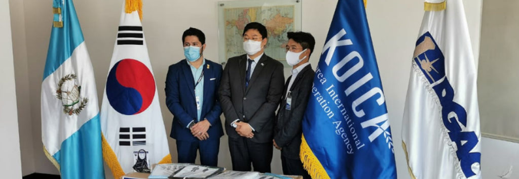 KOICA de Guatemala dona equipo para combatir COVID-19