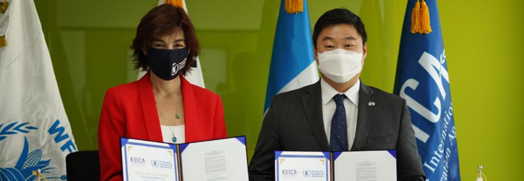 KOICA y el Programa Mundial de Alimentos realiza donación para Guatemala
