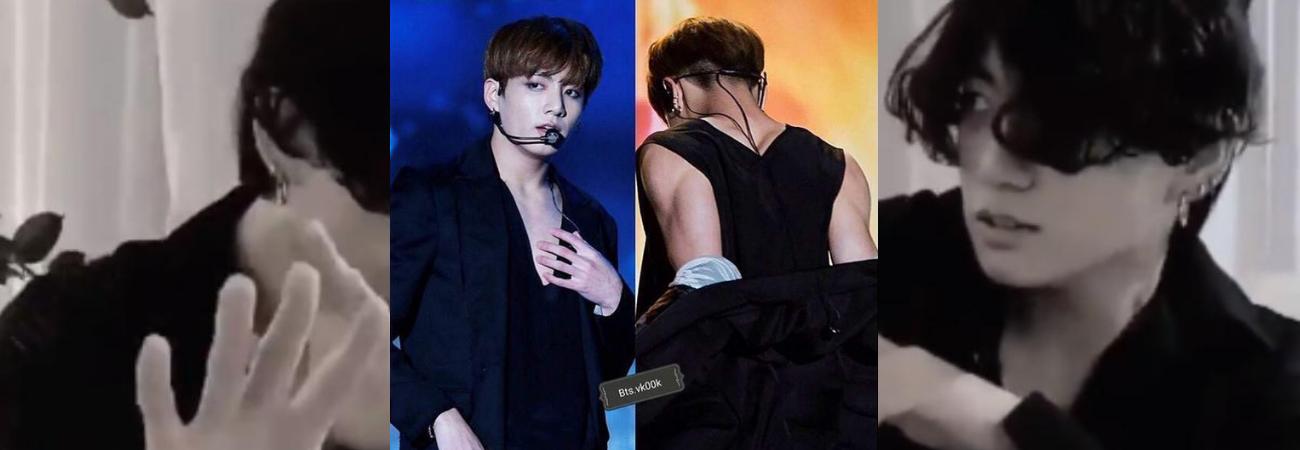 Jungkook de BTS, fue reconocido por la evolución de su cuerpo en TMI News de Mnet