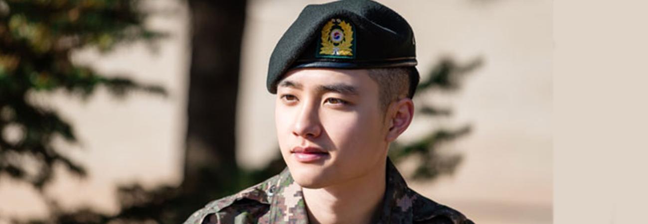 ¿Cuándo termina D.O de EXO su servicio militar?