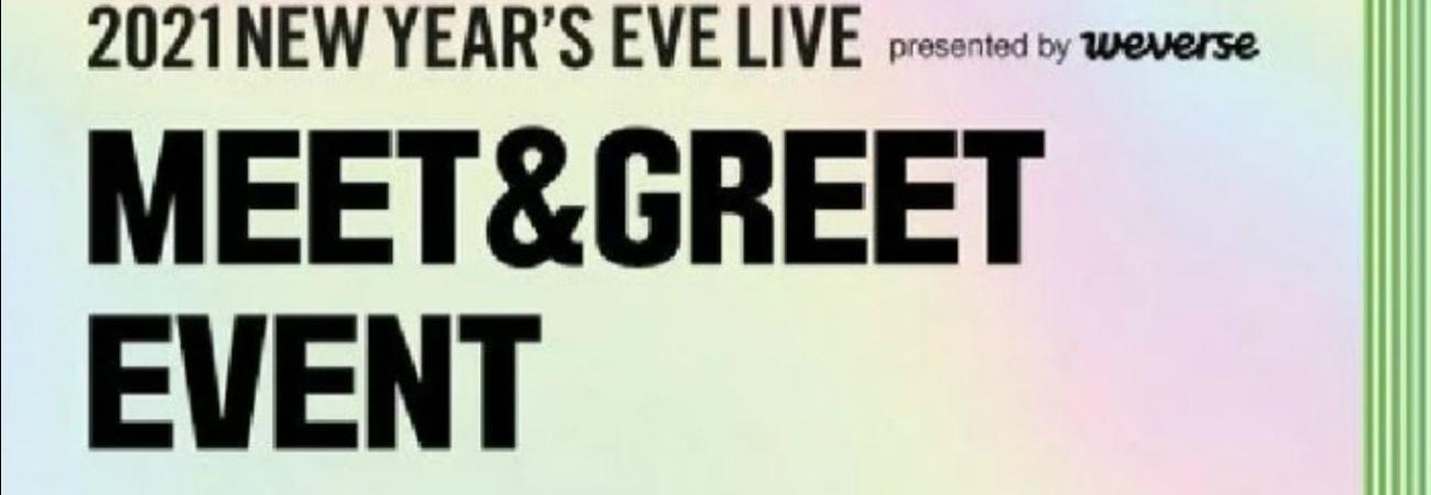Big Hit Labels realizarán un Meet and Greet antes del concierto 2021 New Year's Live