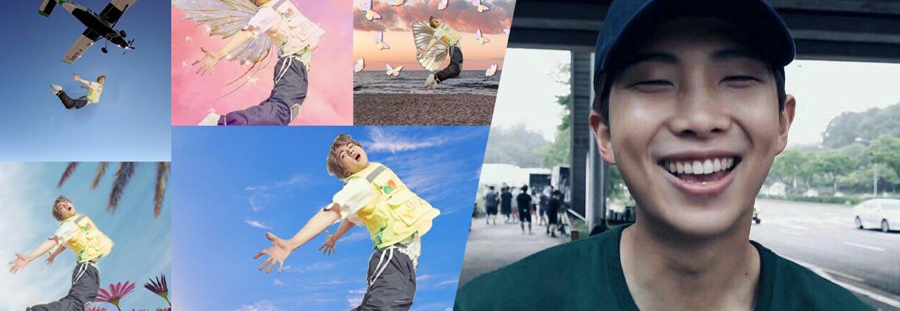MOMENTO ARMY: RM pide que conviertan en un divertido meme Jin