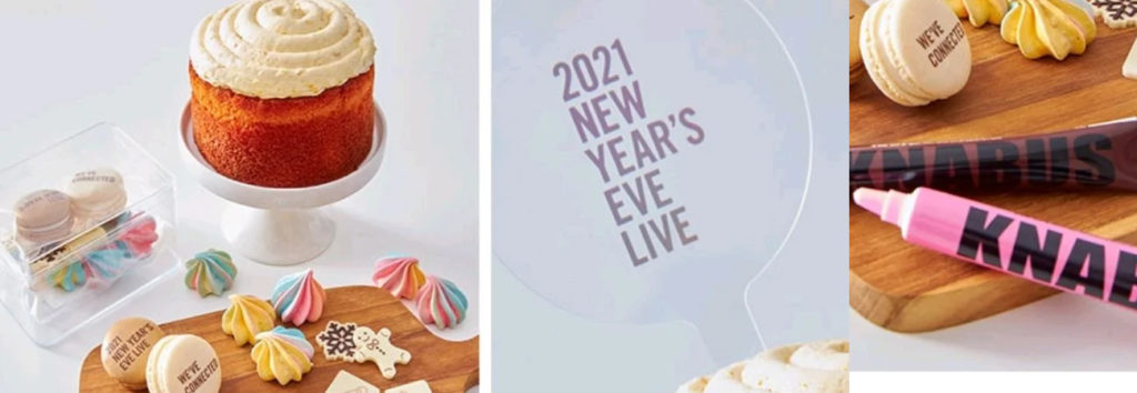 Netizen discuten sobre la merch poco convencional para el concierto 2021 New Year's Eve Live