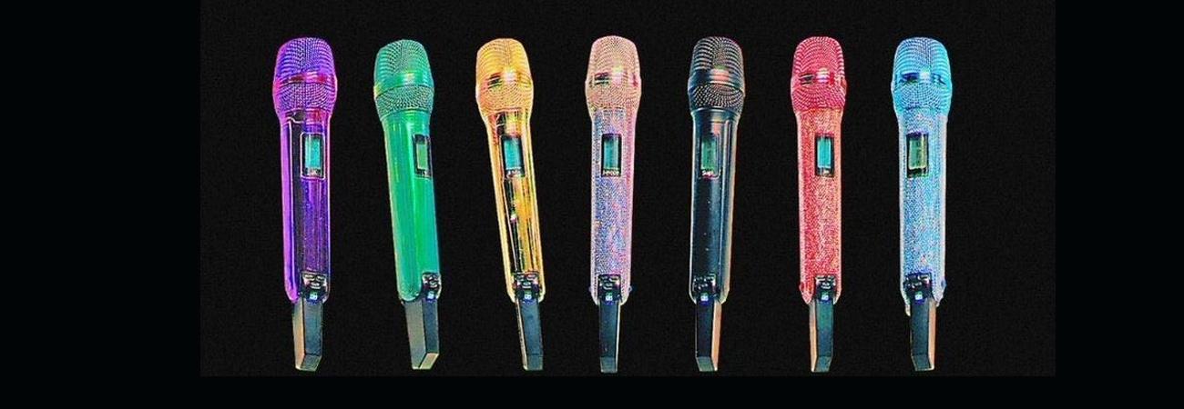 Line Friends lanzara micrófonos de BT21 con los colores de BTS