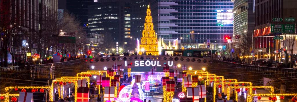 ¿Como se celebra navidad en Corea del Sur?
