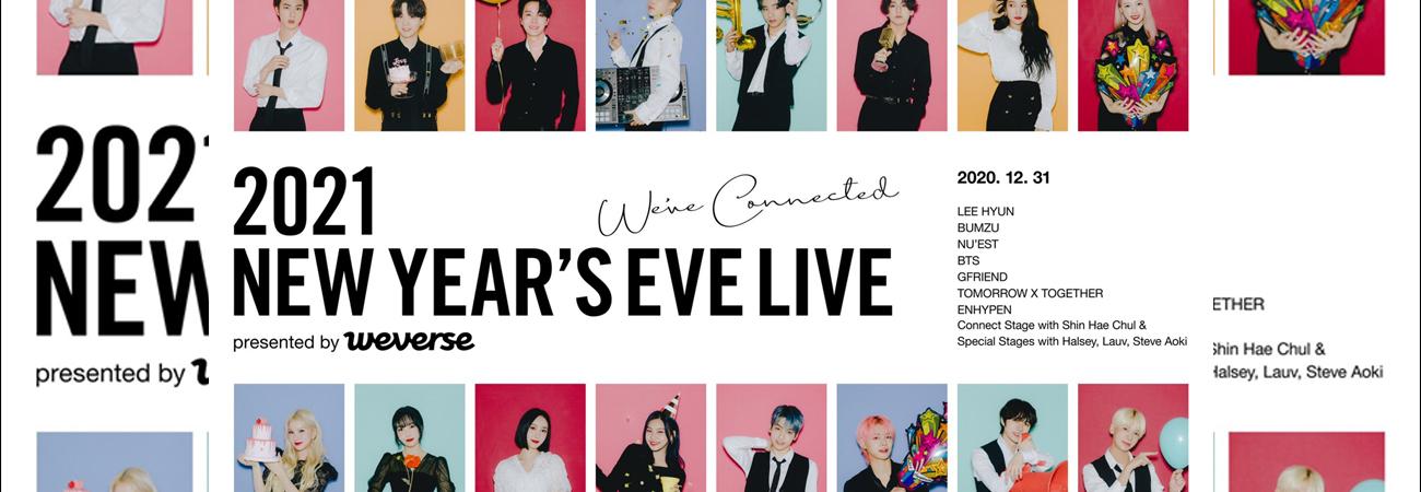 2021 New Year Eve Live sera un concierto pregrabado