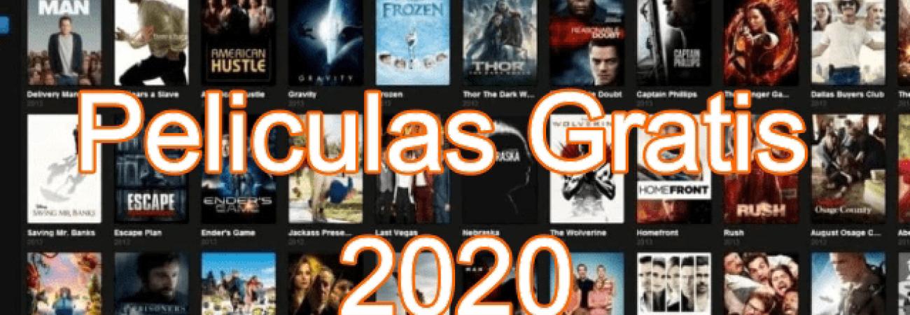 Las 5 Páginas más populares para ver tus Películas GRATIS