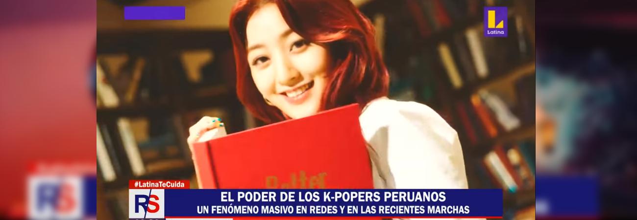 Revelan la gran influencia de los fans de kpop durante programa peruano