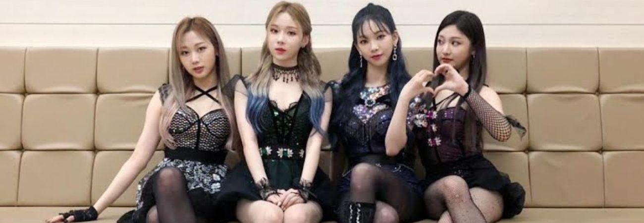 Esta podría ser la razón para el disparejo atuendo de aespa en el 2020 KBS Song Festival