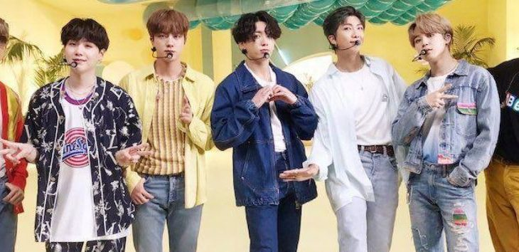 BTS Grupo Ídolo Masculino de 2020