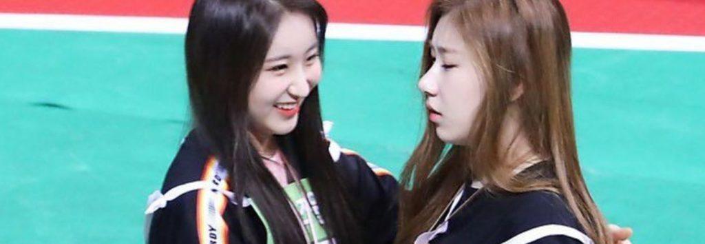 Fans emocionados por estas interacciones entre Chaeyeon de IZ*ONE y Chaeryeong de ITZY