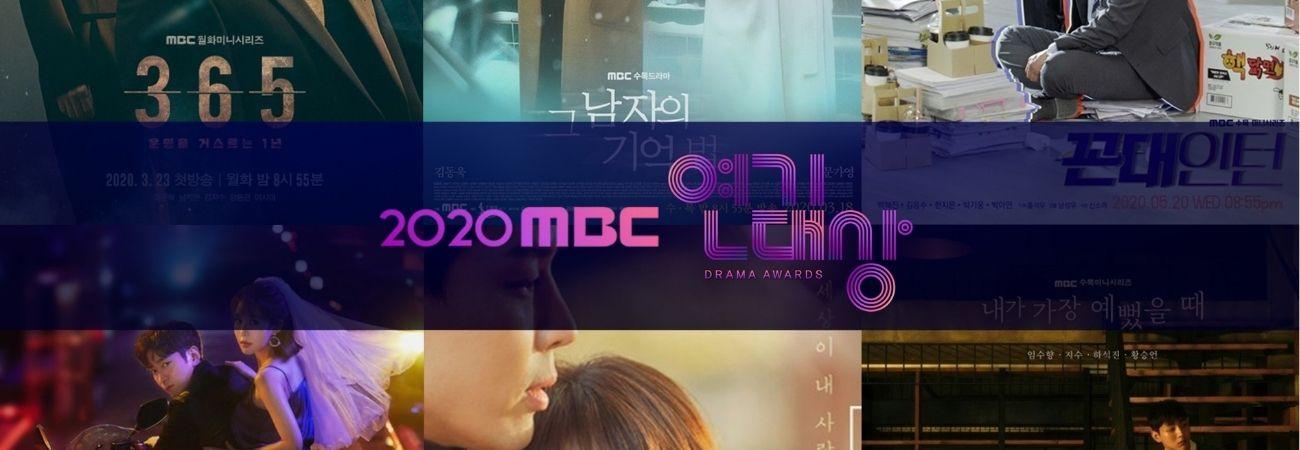 Estos son los ganadores de los 2020 MBC Drama Awards