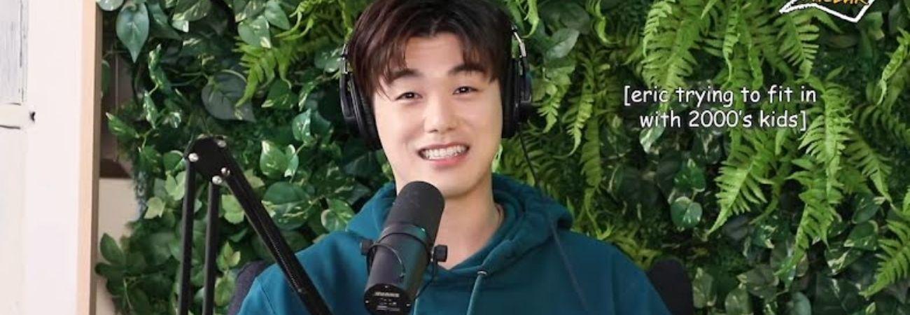 Eric Nam asiste a una maratón de High School Musical pero no sé imaginó en qué lugar sería