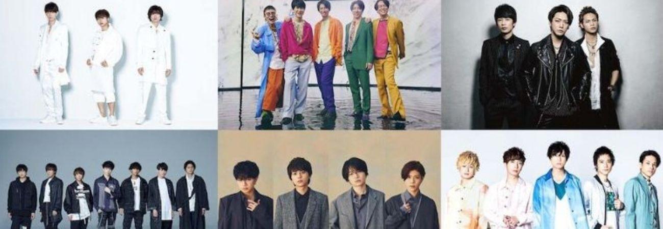 Estos son los grupos confirmados para el Johnny's Countdown 2020 - 2021 en Japón