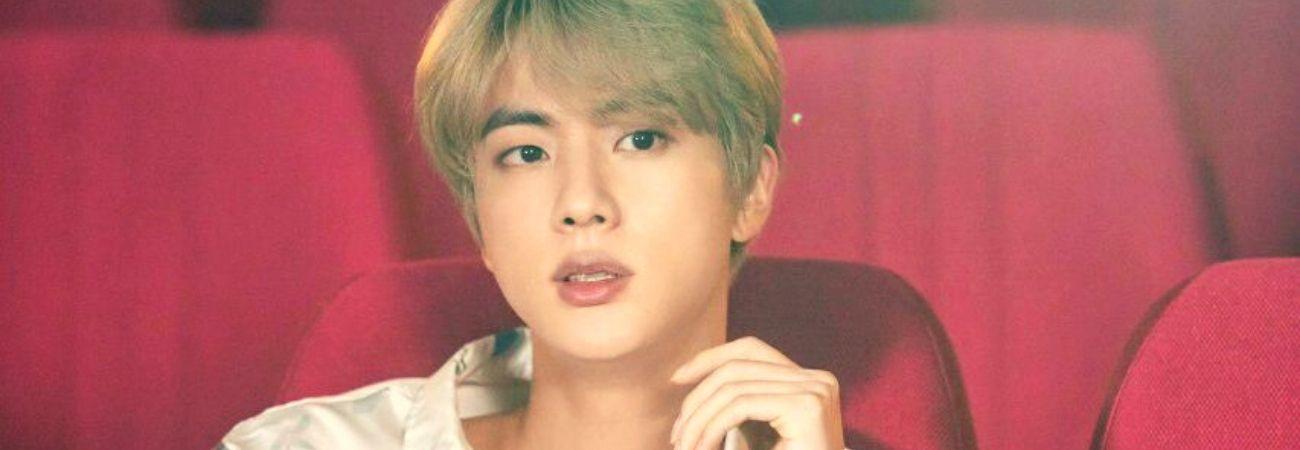 """Jin da BTS é o embaixador da marca do grupo e o """"Rei das promoções"""""""