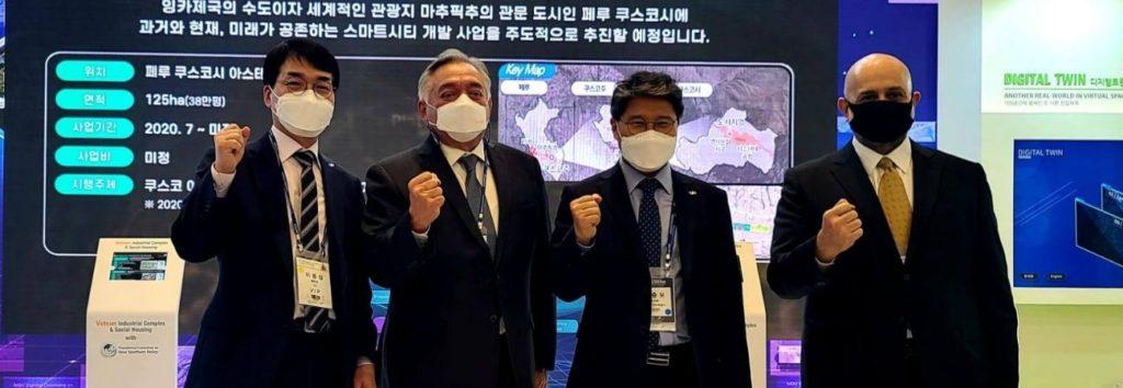 Embajador de Perú en Corea del Sur participó en convención sobre negocios